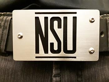 NSU auto logo zwart 2